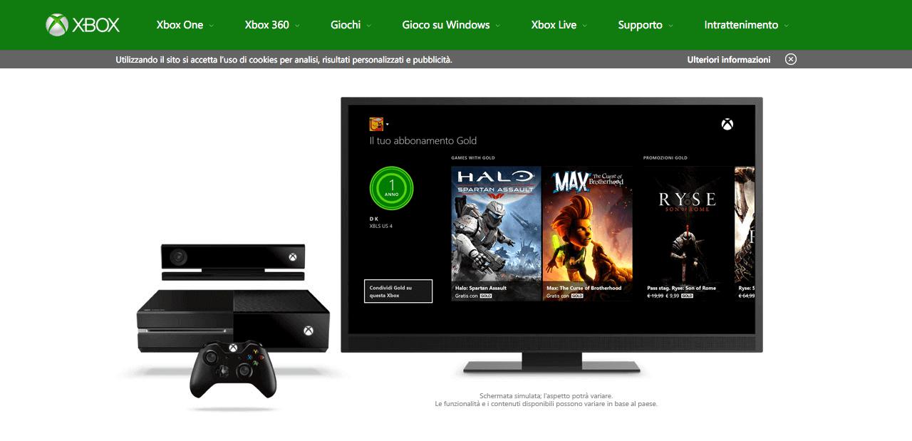 Come annullare l'abbonamento Xbox live gold e gli altri servizi
