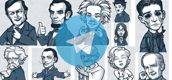 Migliori stickers per Telegram