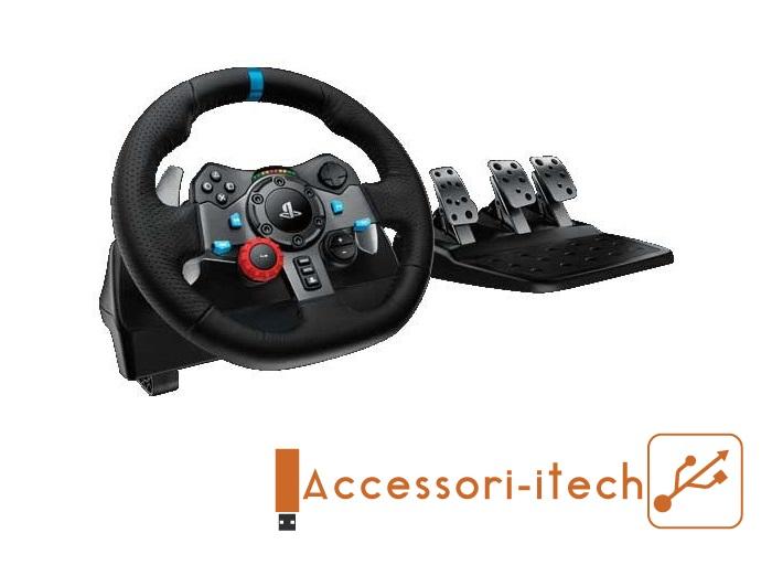 volante gaming pc