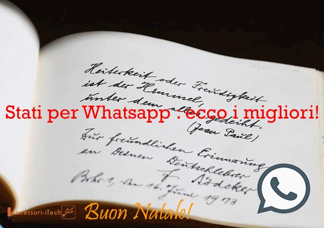 Stati per Whatsapp ecco i migliori