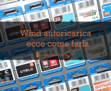 Wind autoricarica : ecco come farla