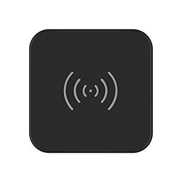 CHOETECH Caricabatterie Wireless Qi con Indicatore LED per tutti i Dispositivi Qi